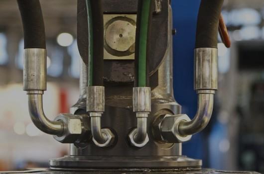 Złączki przewodów gumowych klimatyzacji
